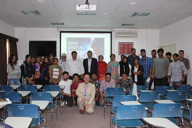my lecture in Waljat College of applied sciences in Muscat - Oman