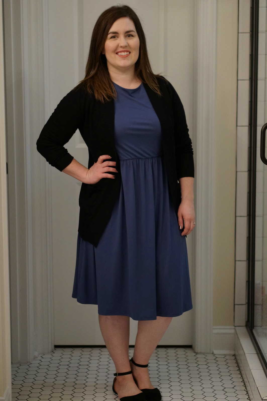BLUE & BLACK | FALL STYLE by North Carolina style blogger Rebecca Lately