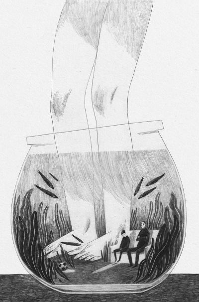 """Ilustraciones del libro """"City"""" por Anja Susanj 2"""