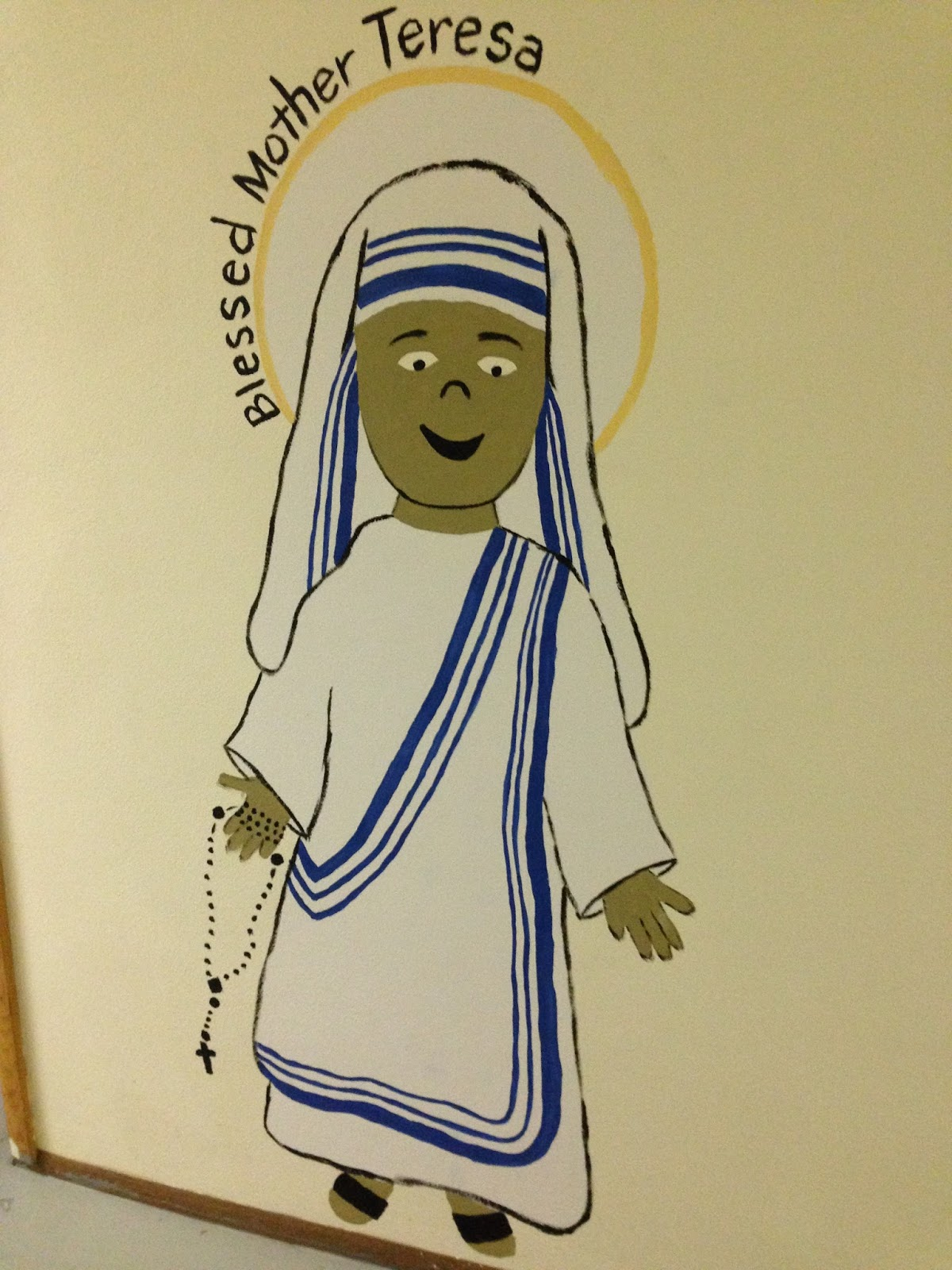Look to Him and be Radiant: Decorating for St. Mother Teresa Theme