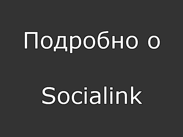 Подробно о Socialink