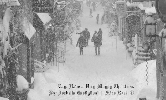 The Miss Rock: Tag: Have a Very Bloggy Christmas