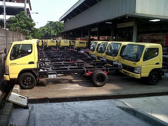dump truck mitsubishi colt diesel canter - 125 ps - 136 ps - 2019