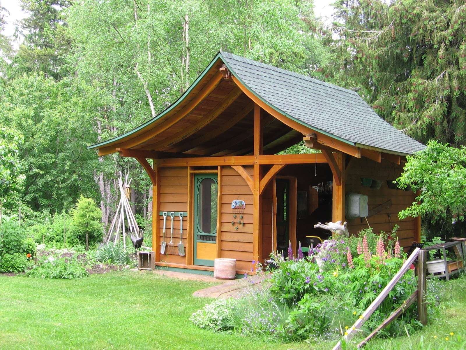 Wood-Mizer LLC: Building Backyard Projects with Lumber ...