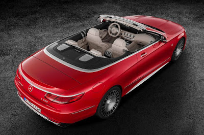 Mercedes-Maybach S 650 Cabriolet (2017) Rear Side
