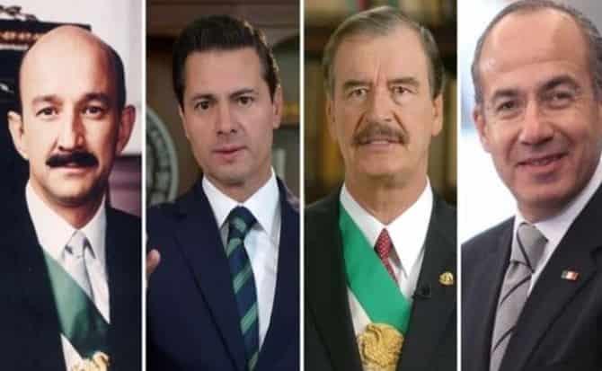 Presidentes, retiro, aguinaldos