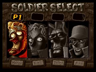 Metal Slug X Gameplay no psx 1.13