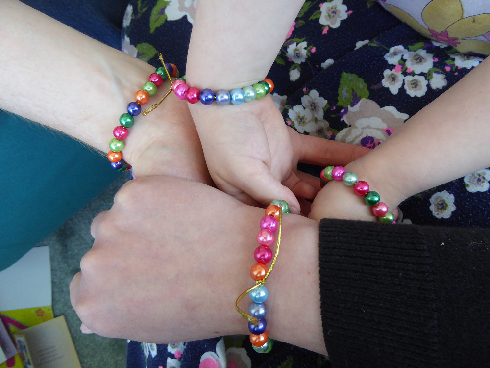 Colourful bracelets