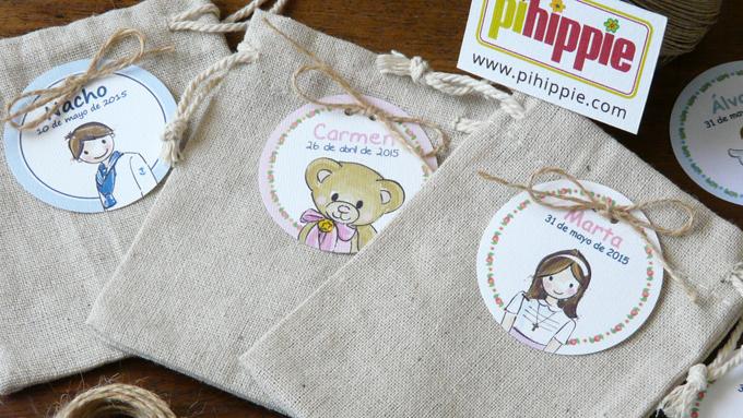 Regalos Comuniones bolsas personalizadas originales