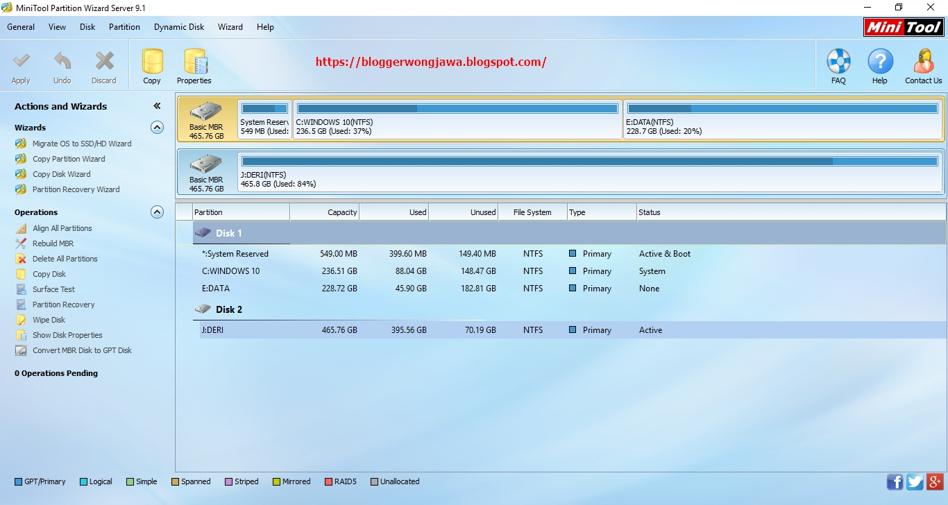 minitool partition wizard free 9.1 portable