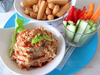 Hummus o paté de garbanzos