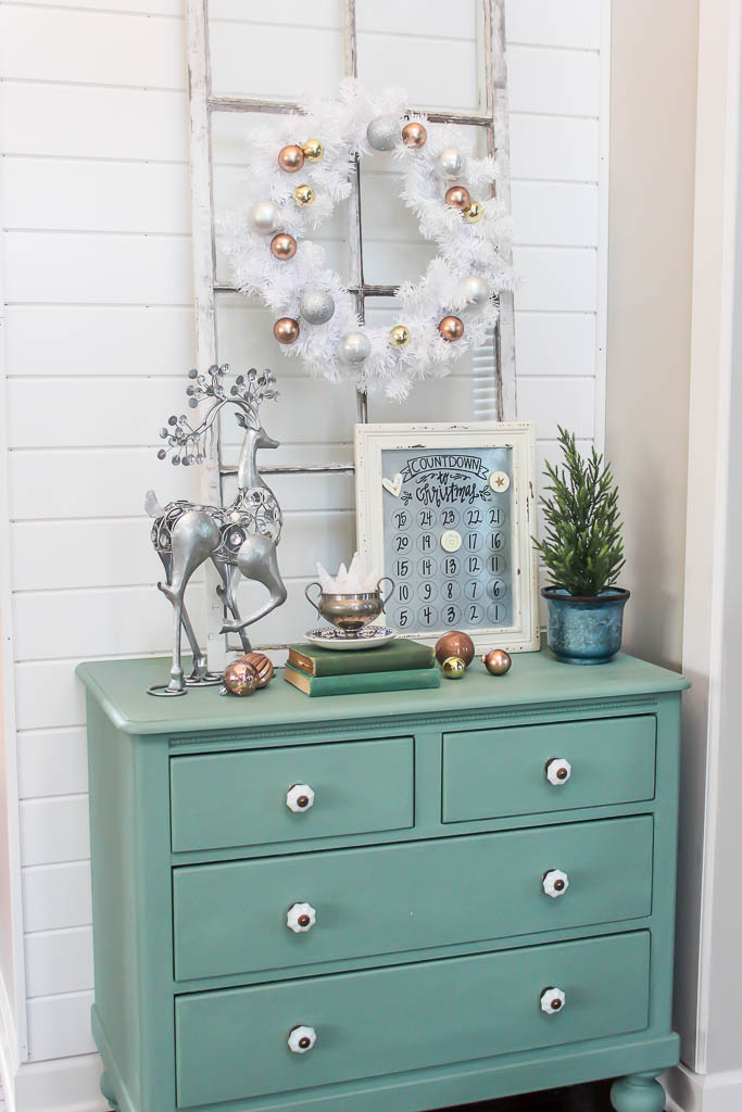 Christmas foyer decor ideas