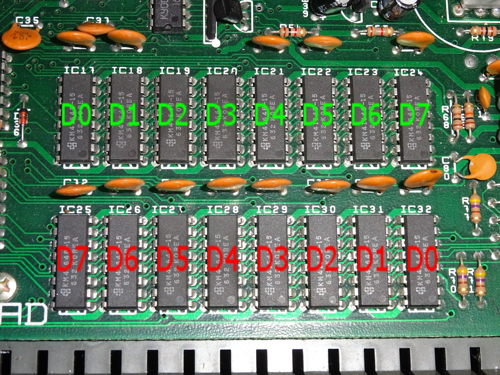 Tynemouth Software June 2017 Pal Colour Encoder Tea2000 This Is Some Glue Logic For The Bank Switching Etc Can Be Replaced By A Gal16v8 Style Chip Such As An Atf16v8 With Appropriate Programming