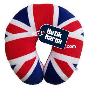 Bantal Mobil - Bantal Leher Bendera Inggris