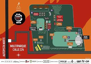 MAPA Festival COSQUIN ROCK 2018 COLOMBIA