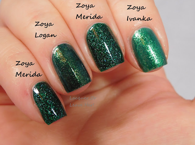 Zoya Logan, Zoya Merida, and Zoya Ivanka