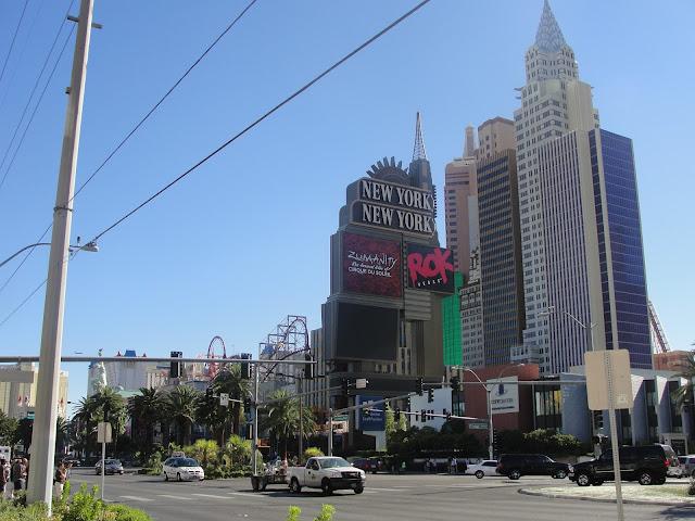 Las Vegas Boulevard - Strip.
