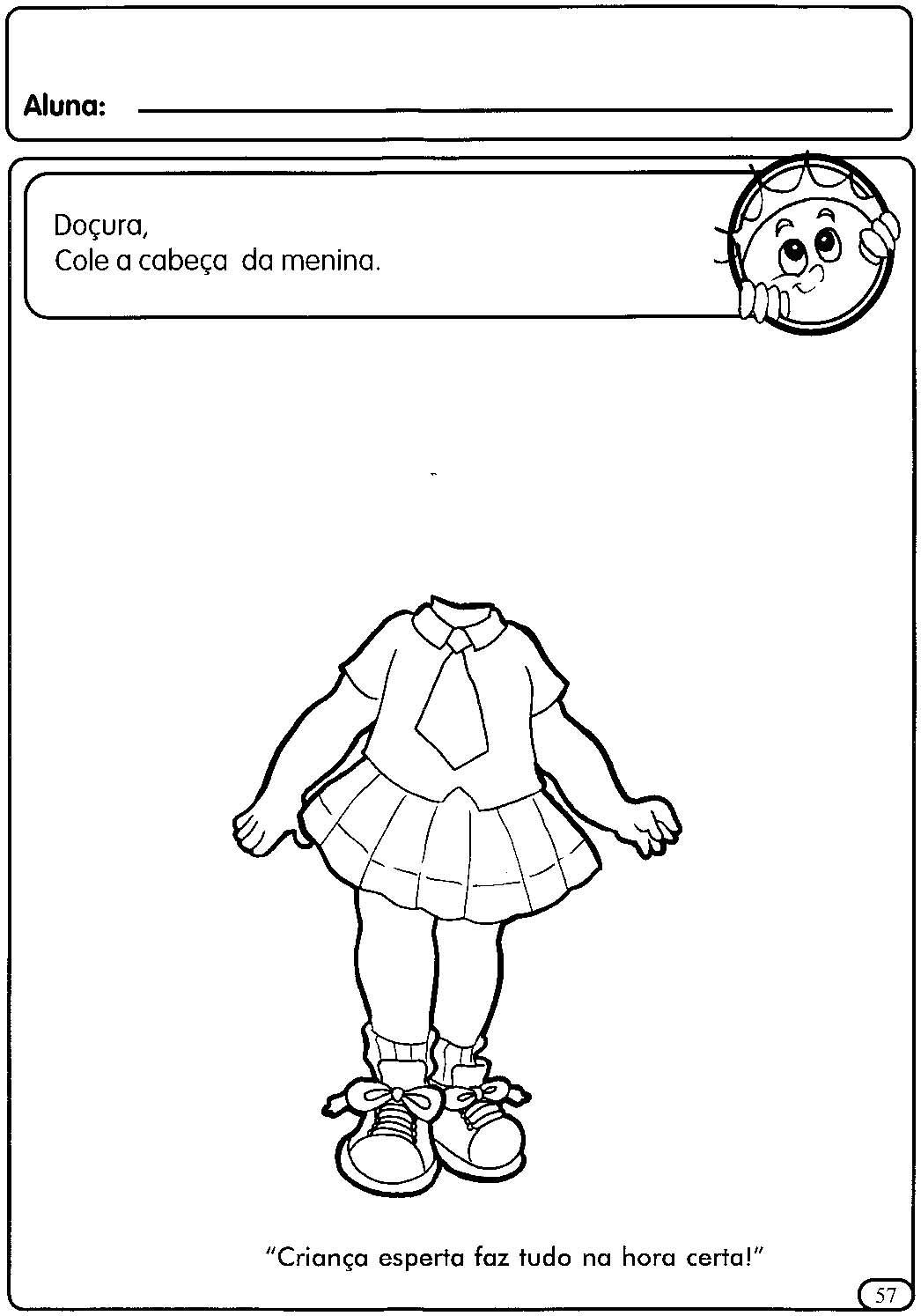 Atividades Para A Educacao Infantil O Corpo