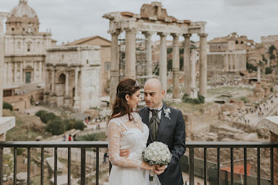 foto monumenti roma matrimonio