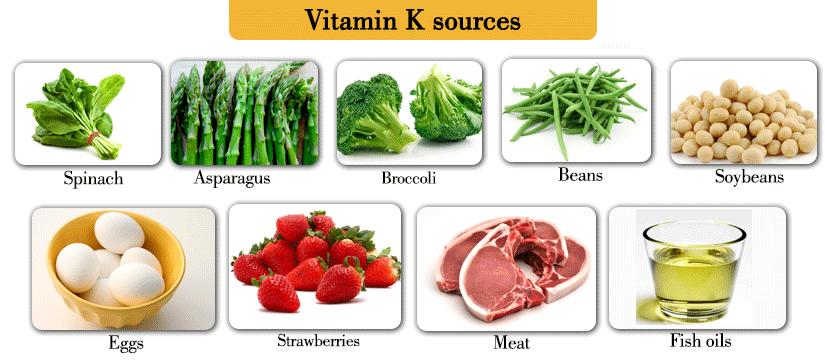 List Of Foods That Has Vitamin K