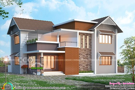 March 2018 house design - Modern house