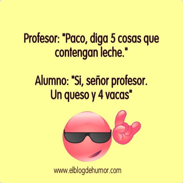 chistes profesores