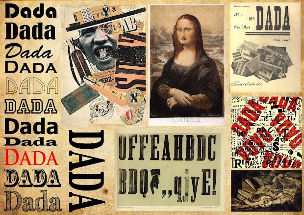 Dada Movement Style Mood Board
