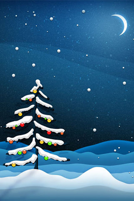 christmas wallpaper for iphone 4 image