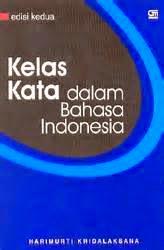 Kategori Kelas Kata Dalam Bahasa Indonesia Bahasa Indonesia