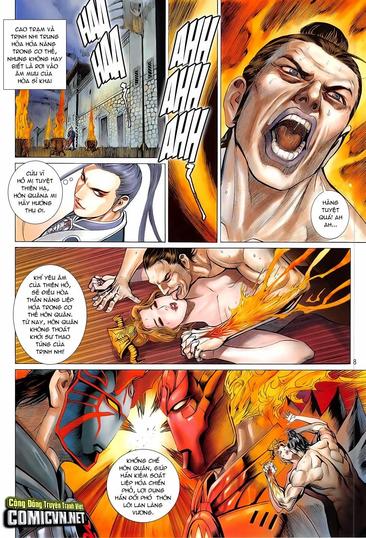 Chiến Phổ chapter 4: mị hồ ngự hỏa trang 7