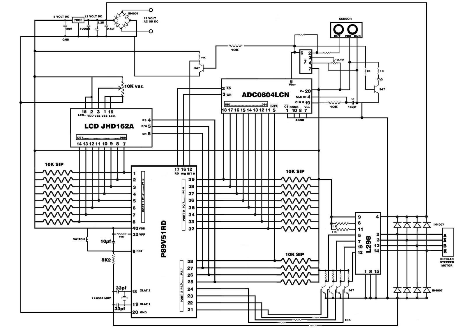 Amogh S Blog Microcontroller Based Infra Red Tracking Radar