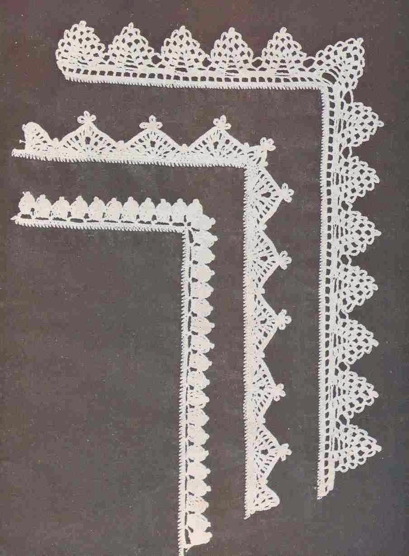 Puntillas a Crochet
