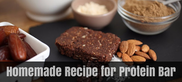 Homemade Recipe for Protein Bar Low Carb