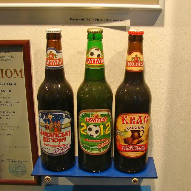 Местные пиво и квас