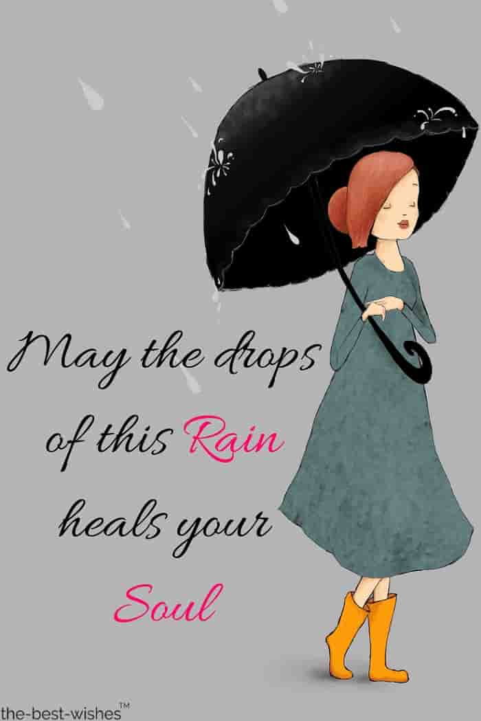 lovely rainy morning wishes