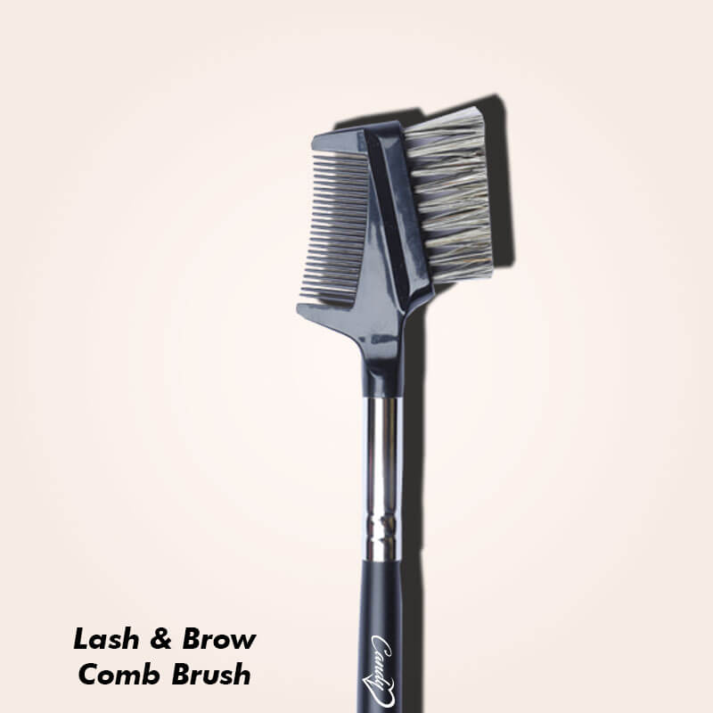 The Eye Makeup Brushes You Need for Professional Finishing - Brow Comb