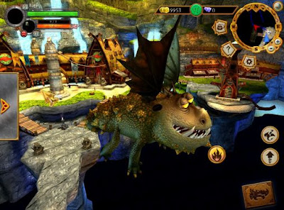 Escuela de Dragones, el videojuego