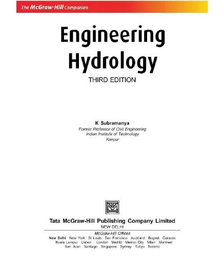 Applied Hydrogeology Pdf