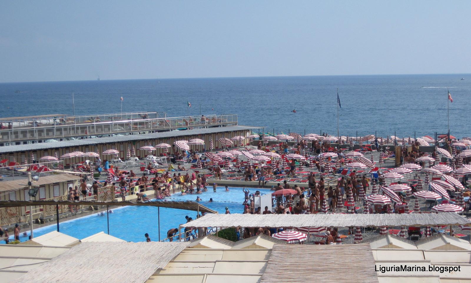 Liguriamarina genova spiagge e mare - Arredo bagno via gramsci genova ...