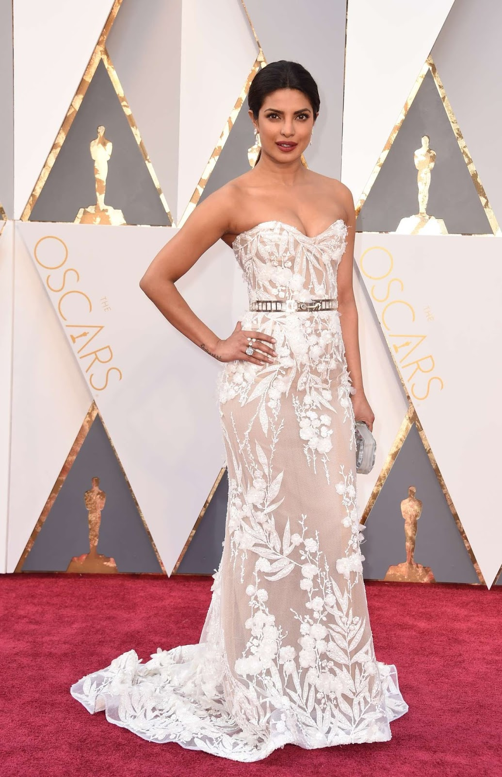 Priyanka Chopra At Oscars Awards
