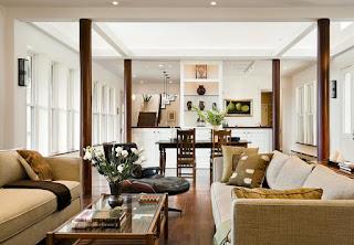 Desain Tiang Rumah Indoor.