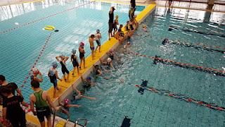 Triathlon Villeneuve d'Ascq natation