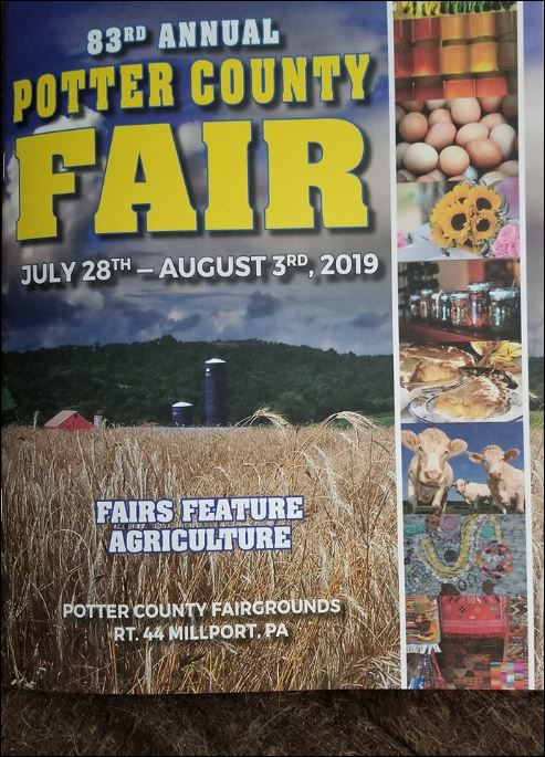 Click Image For 2018 Potter County Fair Book