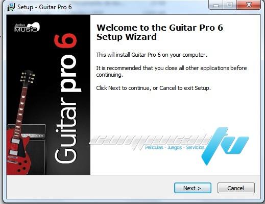 Guitar Pro Versión 6.1.5 PC Español