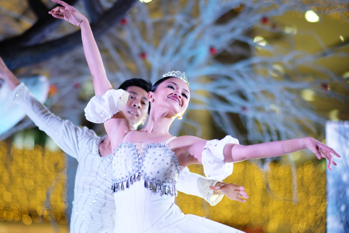 Dazzling performance from the dancers of Halili Cruz School of Ballet