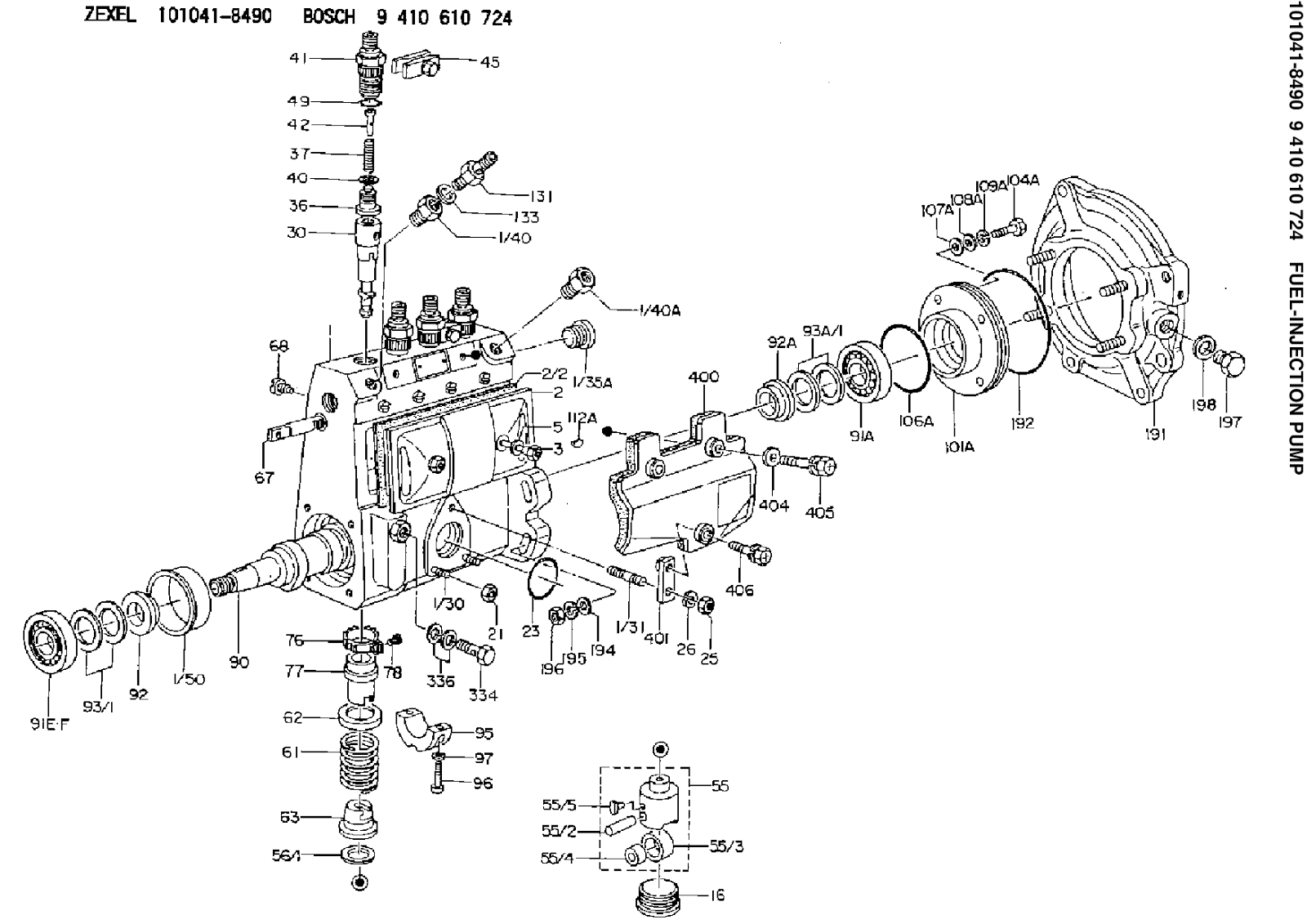 Rotosel Injection Pump