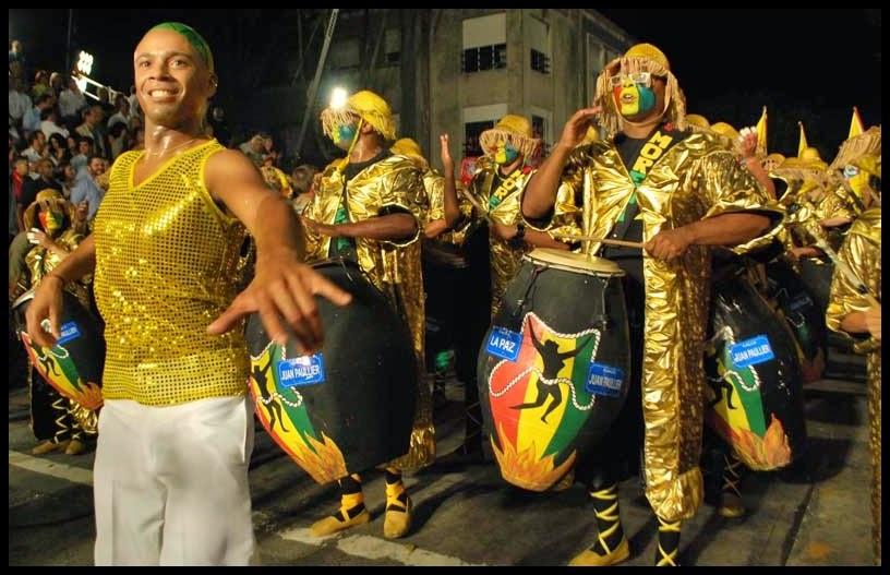 Desfile de Llamadas.Mi Morena. Montevideo. 2011.