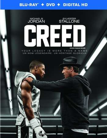 Poster Of Creed 2015 English 350MB BRRip 480p Free Download Watch Online