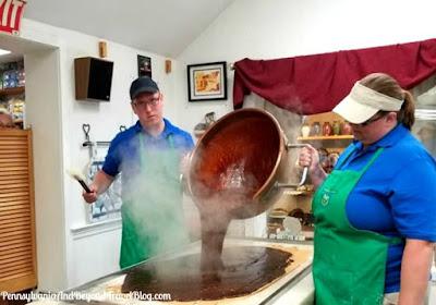 Kitchen Kettle Village in Lancaster Pennsylvania