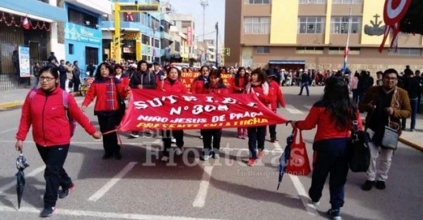 Maestros del SUTEP Puno radicalizan su medida de protesta [VIDEO]